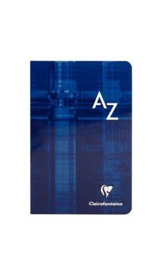 Clairefontaine - 63609 - Répertoire piqûre petit carreaux - 11x17 cm - 96 Pages