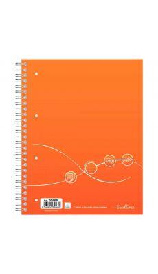 Cahier à reliure intégrale Excellence 160 pages format A4+ quadrillé 5x5, 70g