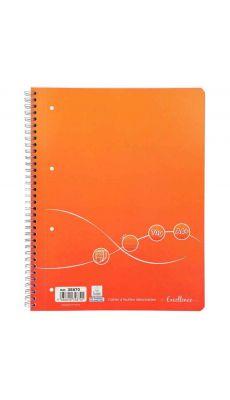 Cahier à reliure intégrale Excellence 160 pages format A4+ ligné, 70g