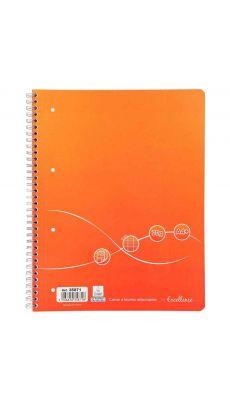 Cahier à reliure intégrale Excellence 160 pages format A4+ seyès, 70g