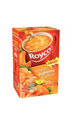 ROYCO - Soupes Crunchy Potiron Royco - Boite de 20