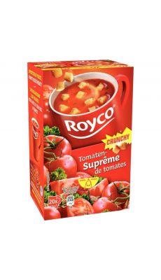 ROYCO - Soupes Crunchy tomates - Boite de 20