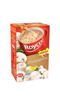 ROYCO - Soupes Grunchy Champignon - Boite de 20