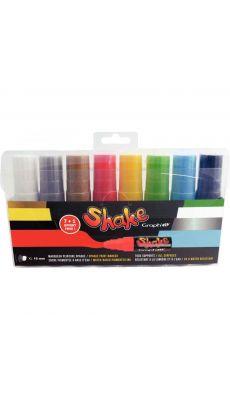 OZ INTERNATIONAL - 435003 - Marqueur peinture Shake XL 16mm - Pochette de 8