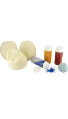 PEBEO - 699350 - Set de 3 pots de 350 grammes de pâte à modeler avec 3 salières de colorants