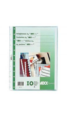 Adoc - 5810-000 - Pochette A4 - Paquet de 10