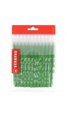 STABILO - Recharge pour schoolpack de 12 feutres TRIO A-Z vert