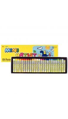 OZ INTERNATIONAL - 014041 - Craies pastels à l'huile Mini Artist - Boite de 25