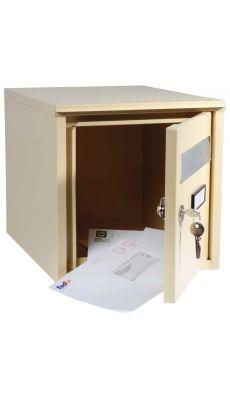 LOCAU - IM32521 - Boite aux lettres beige 32X32X40cm