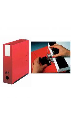 Classeur à 2 leviers Mil-Ar DA+ - dos 95 mm - fermeture par pression - format A4 - rouge