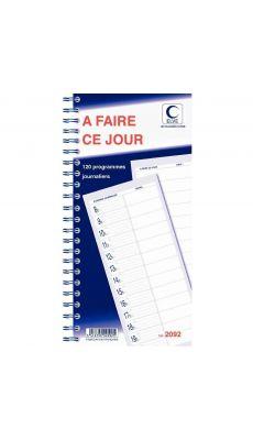 LEBON & VERNAY - 2092 - Carnet a faire aujourd'hui Lebon & Vernay - 125 pages