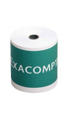 Exacompta - 37042 - Bobine comptable 74x70mm - Longeur 44m - 64g/m²- Paquet de10