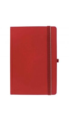LEITZ - 4472-00-25 - Cahier brochure lignée, format A4 rouge - Papier ivoire certifié FSC de 100 g/m²