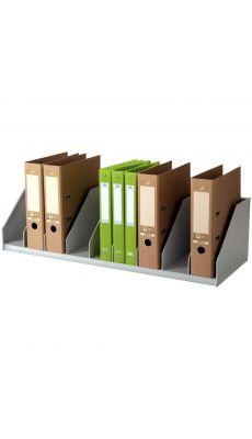 PAPERFLOW - 2045/02 - Trieur 10 cases de classement pour armoire - Gris