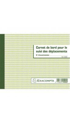 Exacompta - 5090E - Carnet de bord pour le suivi des déplacements