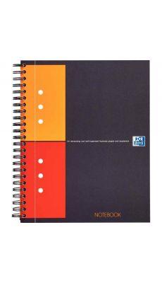 OXFORD - 100101849 - Cahier NOTEBOOK connecté à reliure intégrale - 160 pages - format A5+ - papier 80g blanc - quadrillé 5x5
