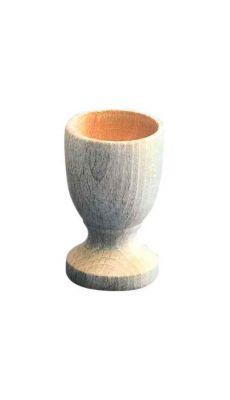 Coquetier a pied en bois h72mm - Lot de 10