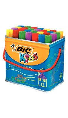 Bic kids - 706092 - Marqueur de coloriage Décoralo pointe ogive assorti - Maxi pot de 28