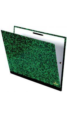 Exacompta - 542000 E - Carton a dessin fermeture par élastique 32x45cm