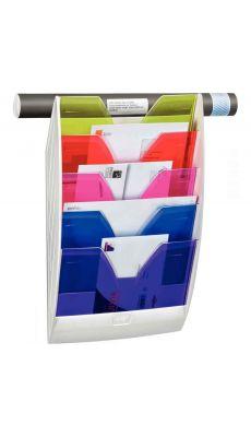 CEP - 154M HM - Présentoir murale magnétique 5 compartiments Happy Multicolore