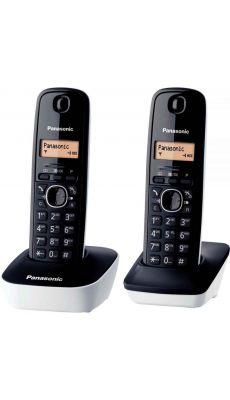 PANASONIC - KX-TG1612 - Téléphone PANASONIC TG1612 duo
