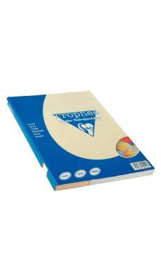 Clairefontaine - 4104 - Papier A4 160g ivoire - Etui de 100