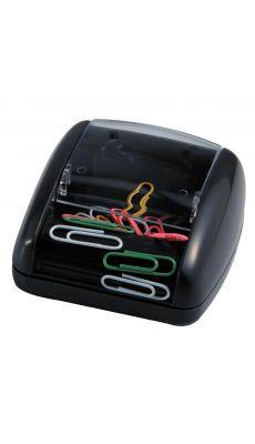 Distributeur magnetique trombone noir