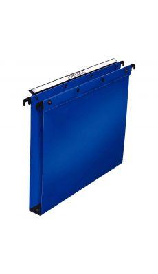 L'OBLIQUE - 100330377 -  Dossier suspendu Polypropylène pour tiroir - Dos 30 mm - Bleu - Paquet de 10