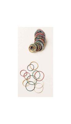 SAFETOOL - Bracelet élastique en caoutchouc assorti - sachet de 20g
