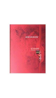 Clairefontaine - 7552C - Cahier de dessin uni blanc - 17x22 cm - 32 Pages
