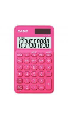 Casio - SL-310UC-RD - Calculatrice de poche 10 chiffres Rose