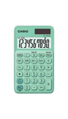 Casio - SL-310UC-GN - Calculatrice de poche 10 chiffres vert