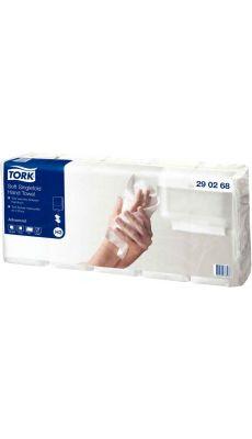 TORK - 290268 - Carton de 5 paquets de 200 essuie-mains pliés en V gaufré 23x24,8cm