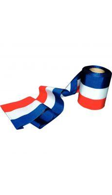 Ruban d'inauguration tricolore FRANCE - 10m