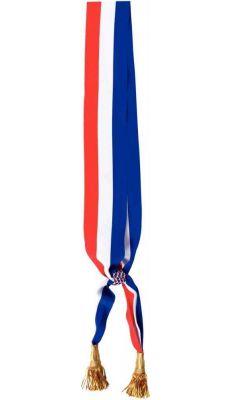 Écharpe tricolore officielle Maire 2m