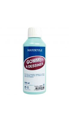 Gomme a dessiner - flacon de 250ml