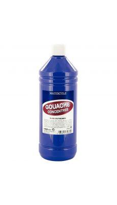 Gouache liquide superieur outremer - Flacon de 1L