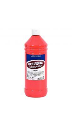 Gouache liquide superieur carmin - Flacon de 1L