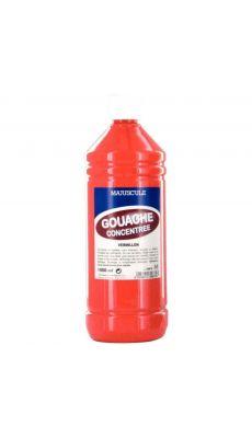 Gouache liquide superieur vermillon - Flacon de 1L