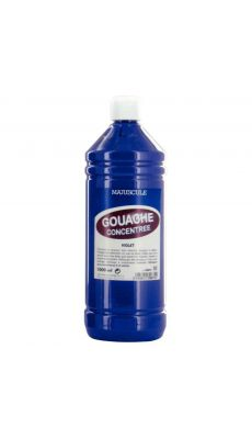 Gouache liquide superieur violet - Flacon de 1L