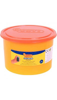 Pate à jouer Blandiver orange - Pot de 460 grammes