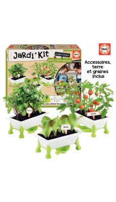 Jardi ' kit : tomate / laitue / roquette
