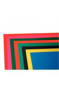 MAILDOR - 455699 MAJ - Papier dessin cartador 270g 50x65 assorti - Paquet de 24