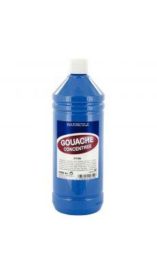 Gouache liquide superieur cyan - Flacon de 1L