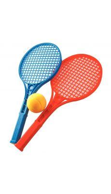 Raquettes tennis + balle - Lot de 12