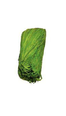 Raphia vegetal vert - pelote de 50g
