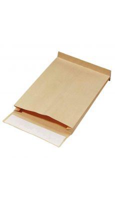 Enveloppe kraft armé 300x470 soufflet 7 cm - Paquet de 50 pochettes
