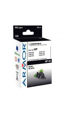 ARMOR - K20107 - Cartouche compatible HP 51645A Noir