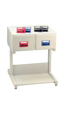 Acco - 33475-80 - Stand pour fichier 2 tiroirs code 42261