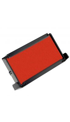 TRODAT - Cassette ref 6/4912 encree rouge - Blister de 3